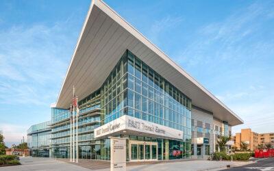 "SOLARBAN 67 Glass aids ""wayfaring"" at North Carolina transit center"