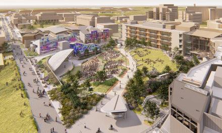 BNBuilders achieves construction milestones for UC San Diego campus grand entrance
