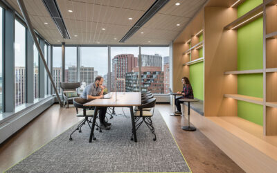 Akamai Technologies' headquarters enhances staff experience in a unified, sustainable space