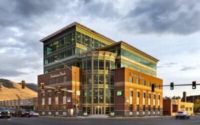 Energy-efficient Stockman Bank Missoula Downtown