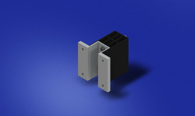 New Technoform thermal isolator clip provides an exterior wall cladding solution for buildings with continuous insulation