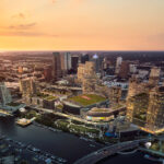 COOKFOX-designed residential building tops out at Water Street Tampa