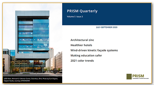 July – September PRISM 2020 EDITION