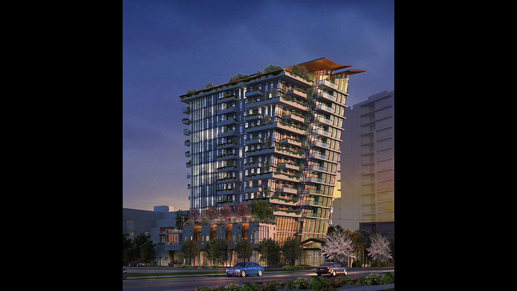 Construction commences on award-winning tower The Wedge