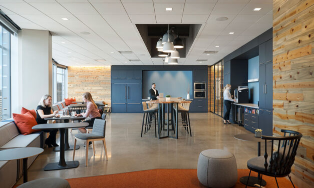 "Greenberg Traurig's Denver law offices showcase high-performing ceiling for a ""next-generation"" workplace"