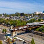 LMN Architects announces completion of the Grand Avenue Park Bridge in Everett, Washington
