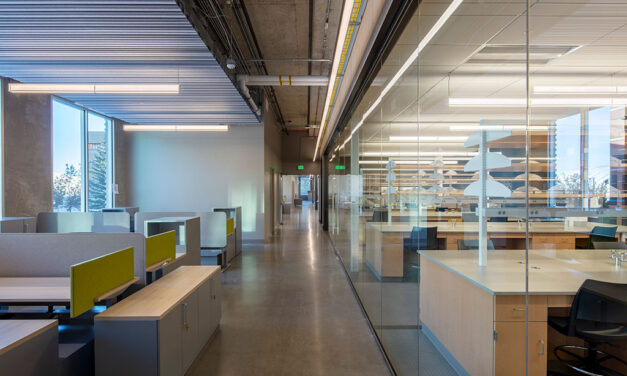 LMN Architects celebrates the completion of the Plant Sciences Building at Washington State University