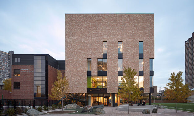 Award-winning Bernard Zell Anshe Emet Day School expansion in Chicago by Wheeler Kearns Architects
