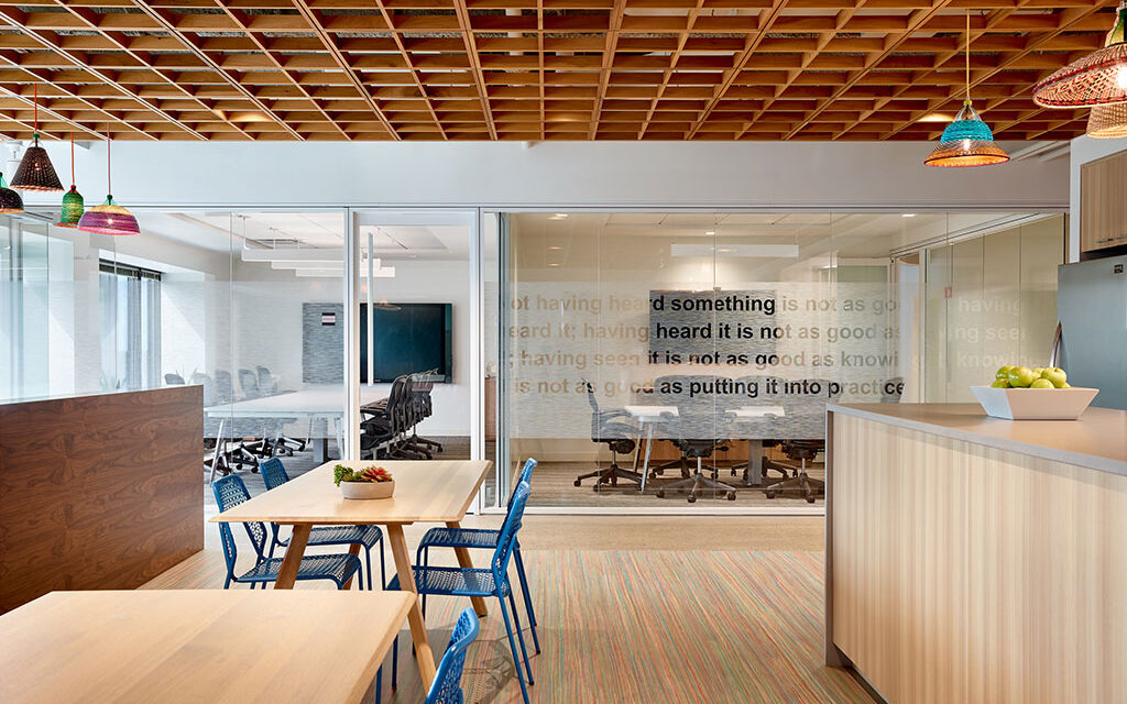 Using biophilic design to create spaces that support health and wellness
