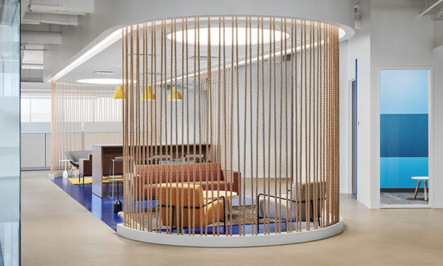 SailPoint Technology's open office spaces optimize acoustics