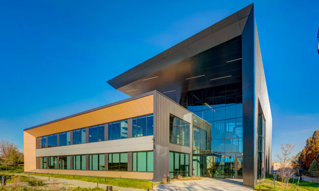 Net-zero-ready Colorado office showcases modern design and high performance with thermal curtainwall and window wall