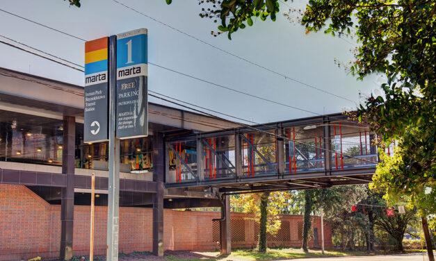 Metropolitan Atlanta Rapid Transit Authority (MARTA) revitalizes Inman Park/ Reynoldstown station's design
