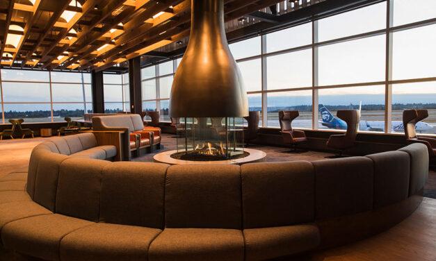 Alaska Airlines Flagship Lounge at SeaTac International Airport North Satellite