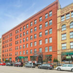 Central Roofing re-roofs top of historic Itasca building