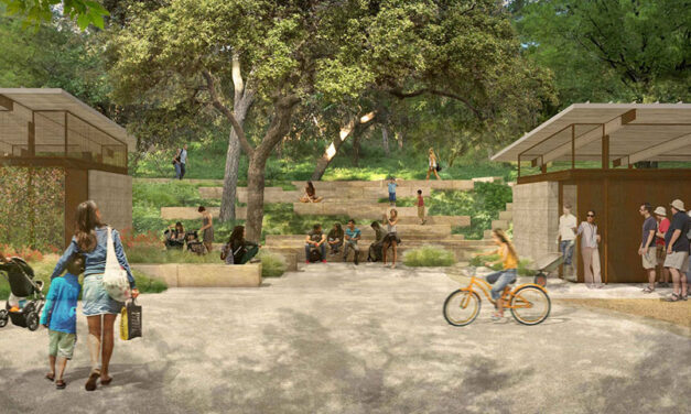 Pease Park in Austin, Texas