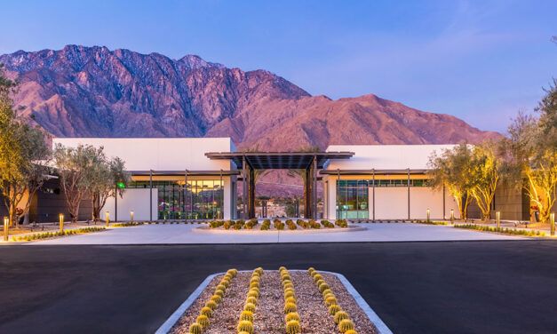 Sustainably designed Palm Springs 'Agrihood' unveils high-design social center