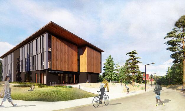 Edward J. Ray Hall on the Cascades Campus of Oregon State University