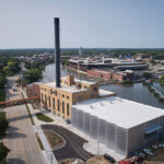 EXTECH's LIGHTWALL system transforms old power plant into Beloit College's new Powerhouse for student recreation