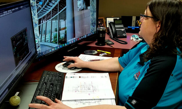 Drafter Cindy Hillegass breaks glass ceiling in construction industry