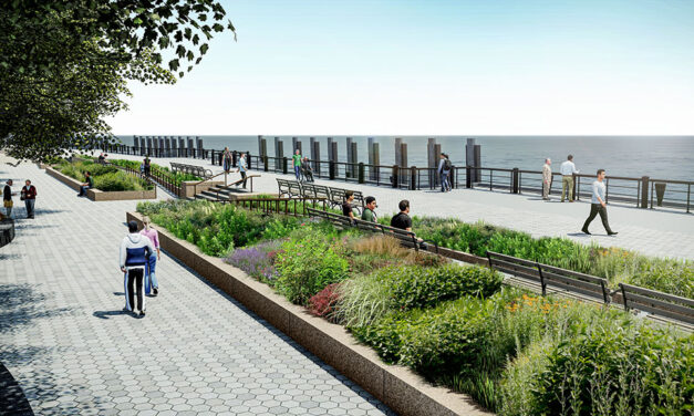 Stantec unveils concept designs for Battery Coastal Resilience Project in Lower Manhattan