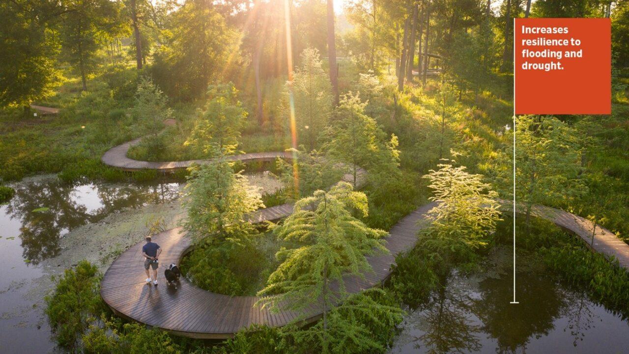Houston Arboretum and Nature Center, Houston, Texas / Design Workshop and Reed Hilderbrand
