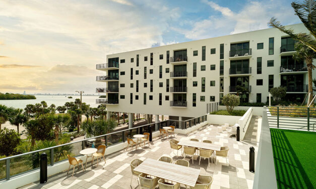 Stantec-designed Adela at MiMo Bay residential building is complete