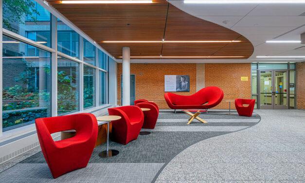 KWK Architects transforms Bernard Becker Medical Library at Washington University School of Medicine in St. Louis