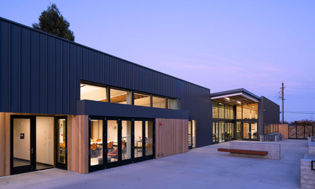 California middle school showcases indoor/outdoor learning spaces with EXTECH's skylight system