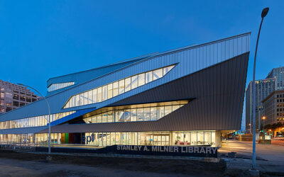 Edmonton's new Stanley A. Milner Library elevates a community focal point