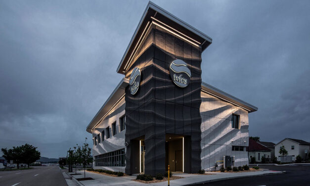 Branch Technology completes the first 3D-printed commercial building envelope in the United States