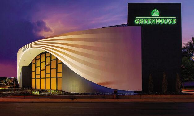 Greenhouse dispensary in Skokie, Illinois