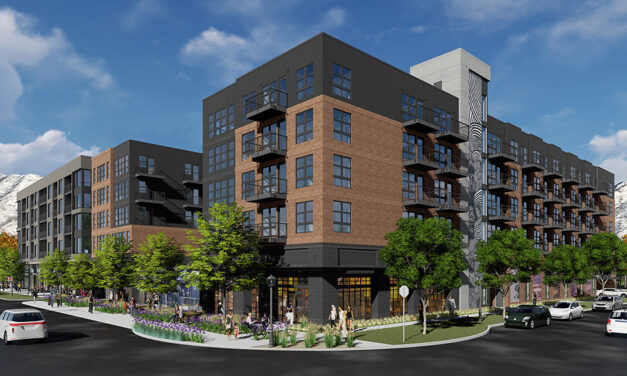 Construction is underway on KTGY-designed mixed-use residential community in Salt Lake City