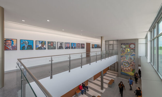 Construction completed on transformative Dallas County South Dallas Government Center designed by KAI