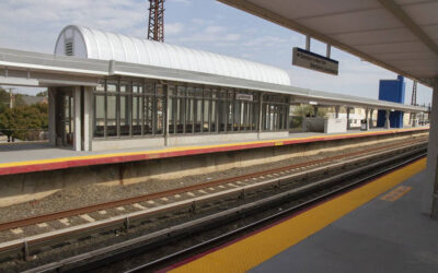 Long Island Rail Road updates Lynbrook station's platforms with EXTECH's custom skylight and canopy systems