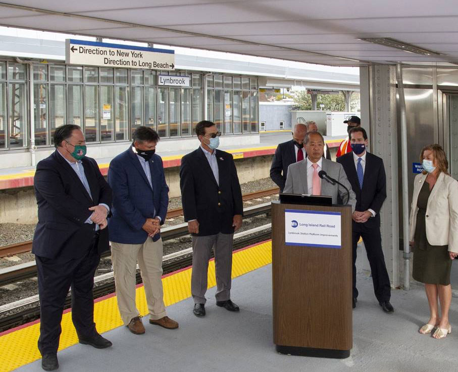 Photo courtesy of Metropolitan Transportation Authority, New York, and EXTECH
