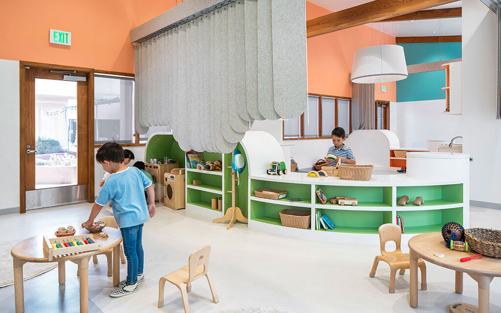 Playful indoor/outdoor preschool design brings high-quality solutions to underserved community
