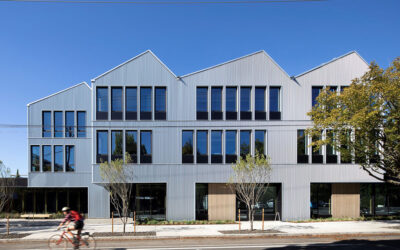SOLARBAN® 67 glass adds sustainability, views to new Portland civic center devoted to social equity